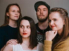 Vuolas Band; Emma Lomy, Verna Kylmänen, Onni Rajaniemi & Aurora Via