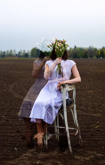 Performance artist Emma Lomy