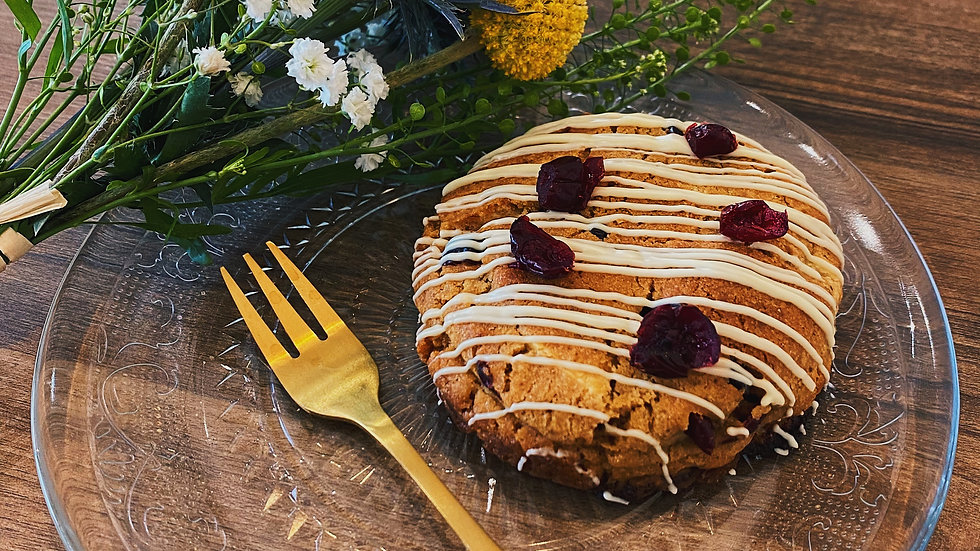 Cookie Chocolat Blanc / Cranberries