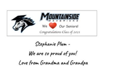 Celebrate a Senior postcard