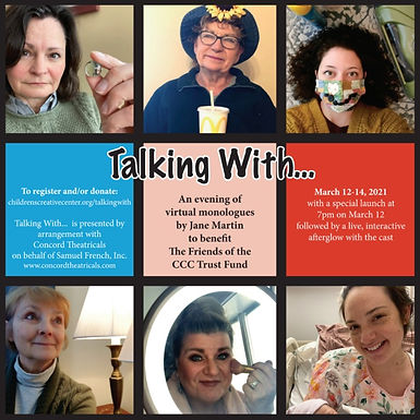 """""""Talking With..."""" Fundraiser"""