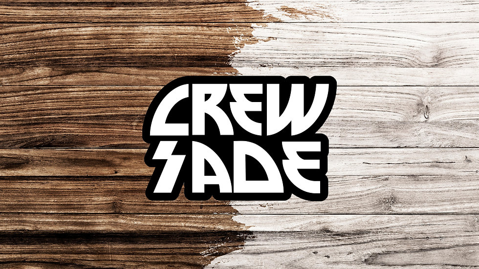 Crewsade Slap Stickers