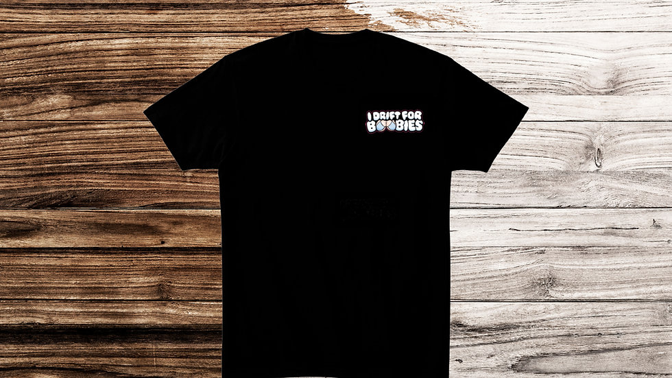 "Crewsade X Baggsy ""I Drift For Boobies"" Tee"
