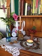 Lesle's prayer space.JPG