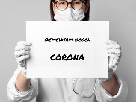 Corona Maßnahmen in unserer Praxis
