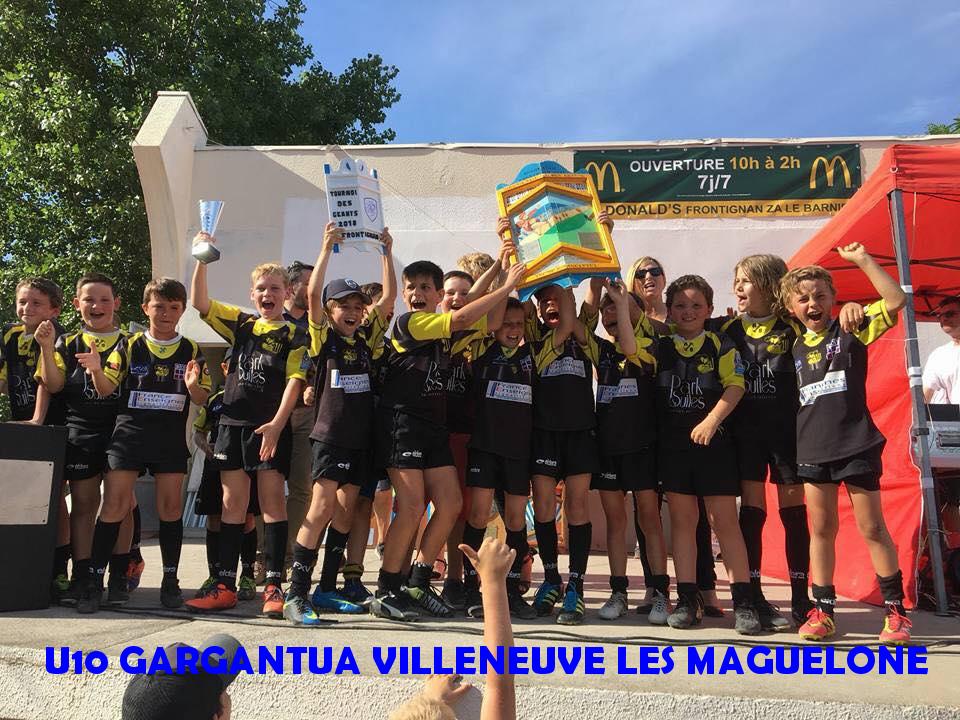 5 - U10 GARGANTUA VILLENEUVE LES MAGUELONE