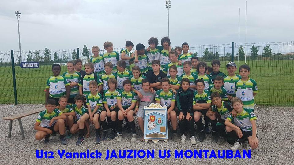 8 - U12 Yannick JAUZION US MONTAUBAN