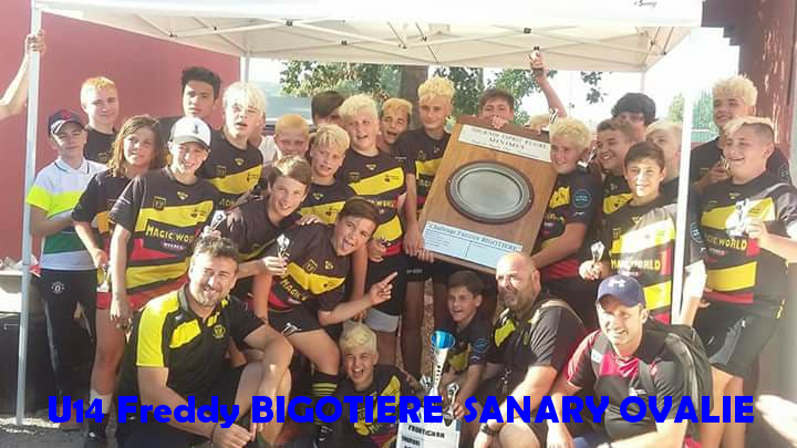 U14 Freddy BIGOTIERE SANARY OVALIE