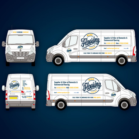 Webb Flooring Company Van