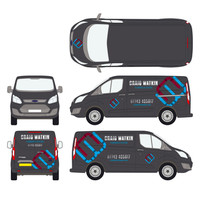 Craig Watkin Plumbing & Heating Ford Transit Vehicle Design