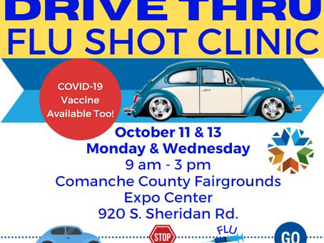 CCHD to offer Drive-thru Vaccines