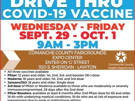 Drive Thru Vaccination Clinic