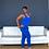 Thumbnail: Simple Essential Jogger Set - Royal Blue