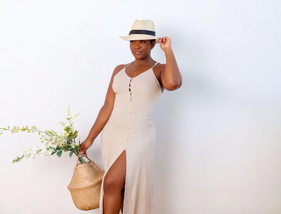 Villa Me Please  Linen Dress