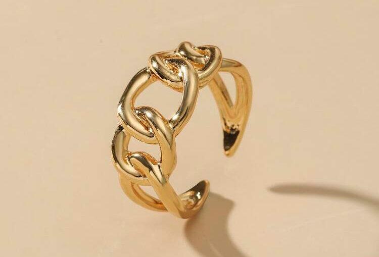 Linked Together - Gold Ring