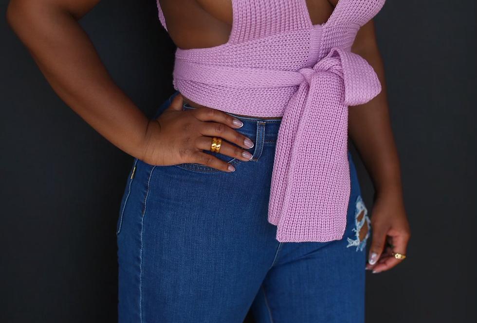 Wrap Me Up | Knit Top