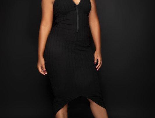 Zip & Go -  Reversible Midi Dress