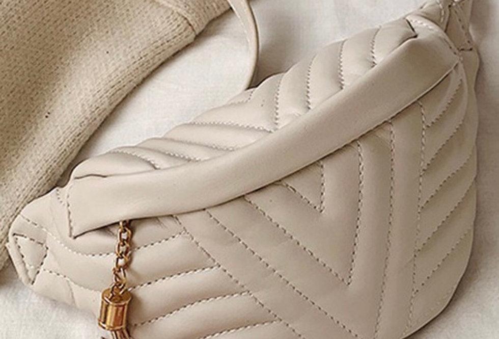 Pouch Belt Bag   Cream