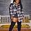 Thumbnail: Boyfriend Flannel - Plaid Jacket