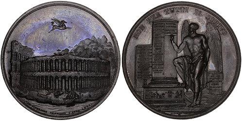 101491     ITALY. Verona. Restoration of the Amphitheater bronze Medal.