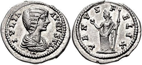 100003 | ROMAN EMPIRE. Julia Domna Denarius.