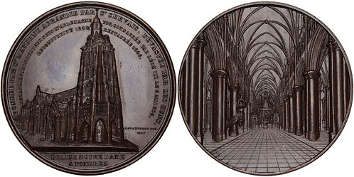 100313  |  BELGIUM. Tongeren (Tongres) bronze Medal.