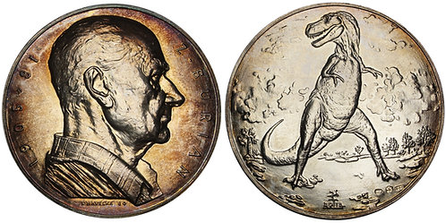 100983  |  CZECHOSLOVAKIA. Zdeněk Michael František Burian silver Medal.
