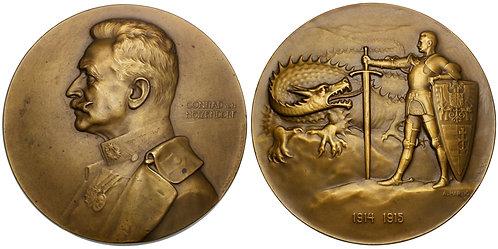 101405  |  AUSTRIA. Franz Conrad von Hötzendorf bronze Medal.