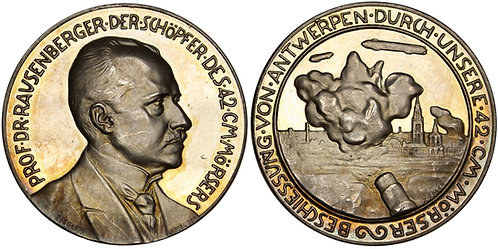 101291  |  GERMANY. Prof. Fritz Rausenberger silver Medal.