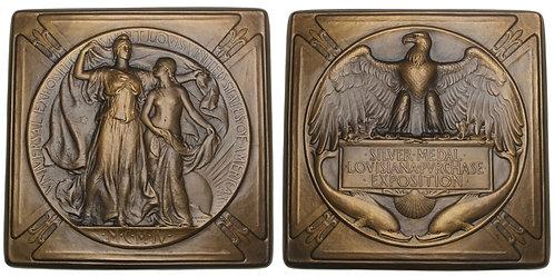 101116     UNITED STATES. Louisiana Purchase Int'l Expo bronze award Medal.