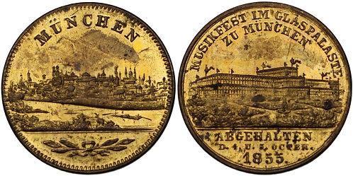 100300  |  GERMANY. Bronze Medal.