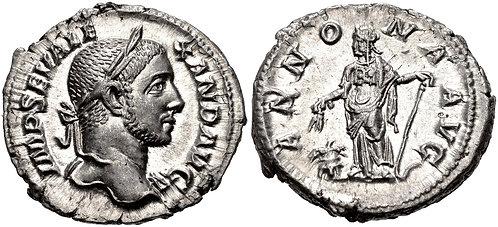 100004 | ROMAN EMPIRE. Severus Alexander Denarius.