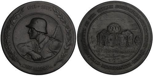 100678  |  GERMANY, RUSSIA & BELARUS. Zinc Medal.