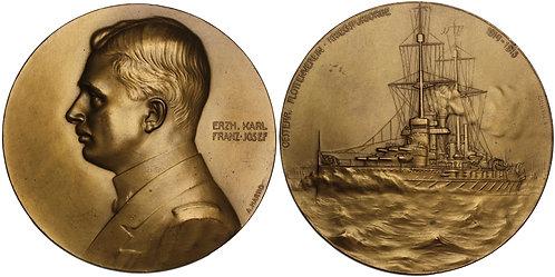 100833  |  AUSTRIA-HUNGARY. Erzherzog Karl Franz Josef bronze Medal.