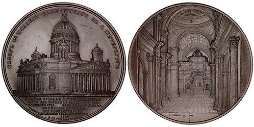 101260  |  RUSSIA. St. Petersburg. St. Isaac's Metropolitan Church bronze Medal.