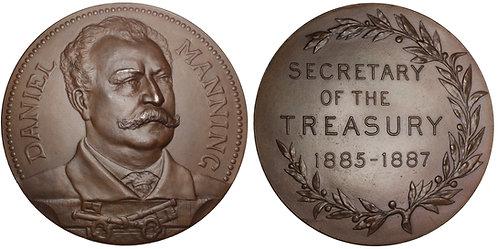 101322  |  UNITED STATES. Daniel Manning bronze Medal.