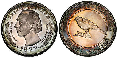 101373  |  AUSTRALIA. Hutt River Province. Prince Leonard silver 30 Dollars.
