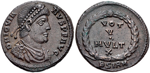 100007 | ROMAN EMPIRE. Jovian Nummus.