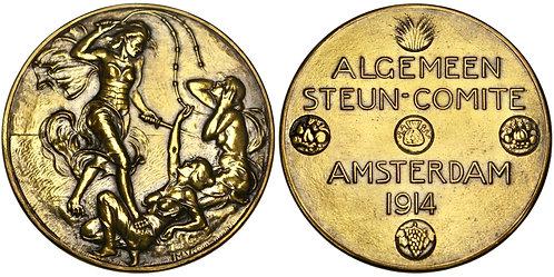101189     BELGIUM. General Aid Committee bronze Medal.