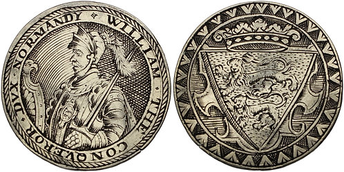 100708  |  GREAT BRITAIN. England. William I 'the Conqueror' silver Jeton.