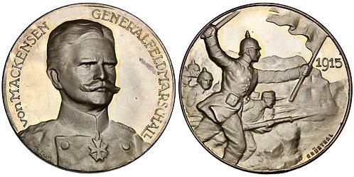 100500     GERMANY. Generalfeldmarschall August von Mackensen silver Medal.