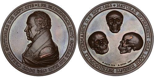 100333  |  GERMANY. Johann Friedrich Blumenbach bronze Medal.