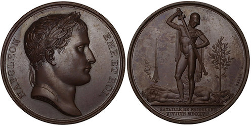 100430  |  FRANCE. Napoleon I bronze Medal.