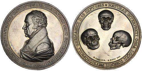 100314     GERMANY. Johann Friedrich Blumenbach silver Medal.