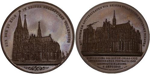 100402  |  GERMANY. Cologne bronze Medal.
