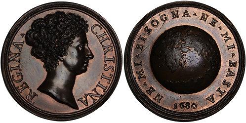 100229  |  SWEDEN. Kristina bronze Medal.
