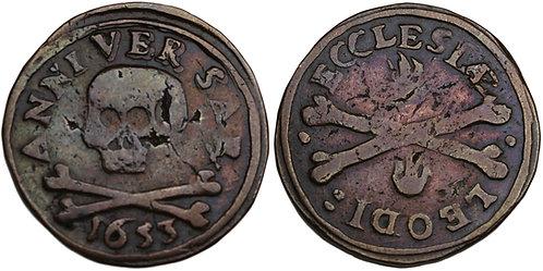 100338  |  BELGIUM. Luik (Liège). Chapter of St. Lambert's bronze Méreau.