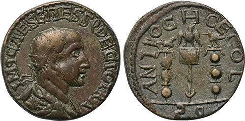 100113  |  ROMAN EMPIRE. Trajan Decius bronze Unit.