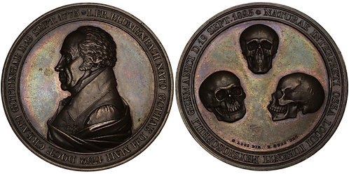 100245  |  GERMANY. Johann Friedrich Blumenbach bronze Medal.