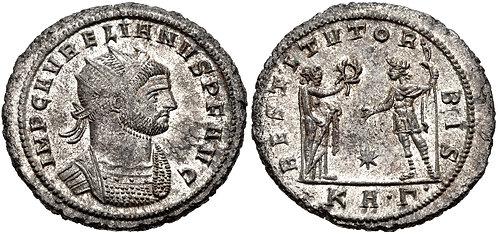 100014   ROMAN EMPIRE. Aurelian Antoninianus.